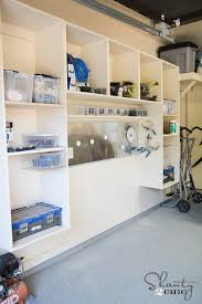garage organization woodworking plans