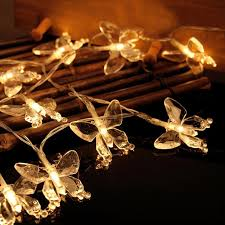 battery led string lights 20 leds christmas butterfly led string lights battery operated