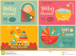 baby shower poster baby shower posters stock vector image 56572521