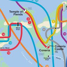 Subway Maps Nes Subway Maps The Awesomer