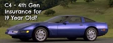 how much do corvettes cost how much does it cost to insure a c4 corvette for a 19 year
