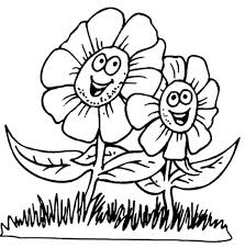 spring flowers coloring pages coloringstar