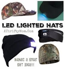 led lighted hats