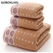 bath towel sets cheap get cheap patterned bath towel sets aliexpress