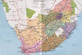 Kalahari Desert Map A Brief History Of Roads In South Africa In The Beginning The