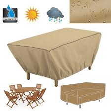 Patio Table Cover Rectangle by Online Get Cheap Waterproof Table Covers Aliexpress Com Alibaba