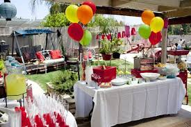 Picnic Decorations Amazing Of Backyard Bbq Decoration Ideas Summer Picnic Decorating
