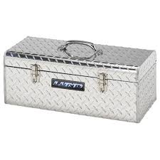 Tool Box Lund 5124t 24 Inch Aluminum Handheld Tool Box Diamond Plated