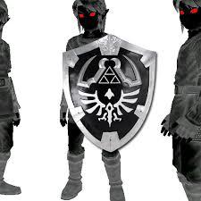 Dark Link Halloween Costume Dark Link U0027s Hylian Shield Legend Zelda Size 13 Deals