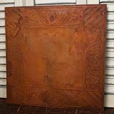 Used Tin Ceiling Tiles For Sale by Vintage Inspired Rusty Tin Scroll Embossed Ceiling Tile Ceiling