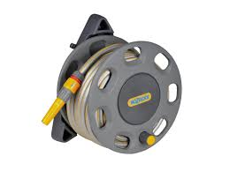 30m wall mounted reel with 15m hose 2422 hozelock
