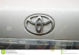 toyota logo toyota logo editorial photography image 16271147