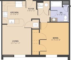 a floor plan eastbrooke affordable apartments in washington dc