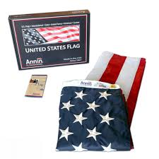 Flying The American Flag With Other Flags American Flag 4 Ft X 6 Ft Nylon Solarguard Nyl Glo By Annin