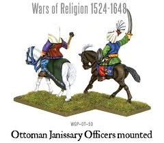 Ottoman Religion Pike And Shotte Wars Of Religion Ottoman Janissary Officers Mounted