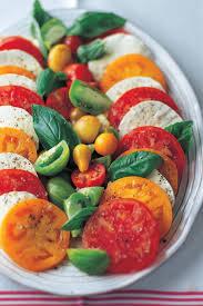 ina garten tomato i love making a simple tomato and mozzarella salad with fresh basil