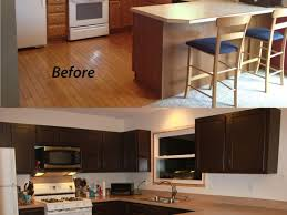 Painted Kitchen Cabinets Before After Kitchen Painting Kitchen Cabinets And 16 How To Repaint Kitchen
