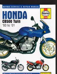 honda cb500 twin 1993 to 2001 service u0026 repair manual by haynes