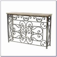 narrow wrought iron sofa table sofas home design ideas wj9laxd7gd