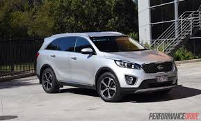 kia jeep 2015 2015 kia sorento sli v6 review video performancedrive