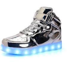 Kids Light Up Shoes Light Up Shoes For Kids Usb Rechargeable 7 Color Unisex U2013 Rave