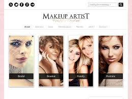 makeup artists websites makeup artist website templates hotshotsfxmediaweb design website