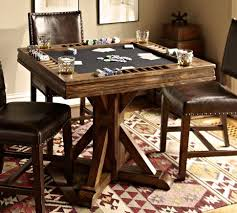 man cave table and chairs card table pottery barn lake house pinterest pottery barn
