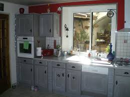repeindre sa cuisine en gris repeindre une cuisine en chene repeindre meuble de cuisine en