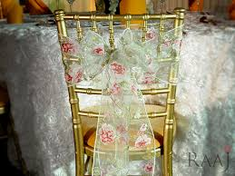Wedding Chair Sashes Wedding Chair Sashes Hire Uk The Raaj