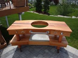 large green egg table flowy how to build big green egg table f80 on stunning home