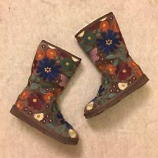 s ugg australia plumdale boots ugg australia floral s mid calf boots ebay