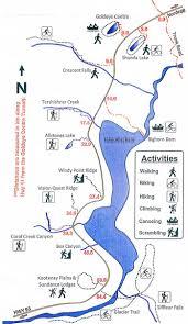 Calgary Alberta Canada Map by Goldeye Lake Bighorn Backcountry Hiking Alberta Hiking With
