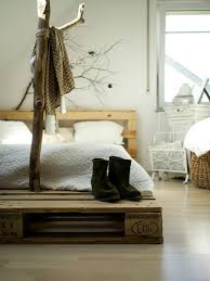 Pallet Platform Bed Diy Pallet Bed Frame Fantastic Bedroom Furniture Design Ideas