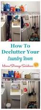 Storage Solutions Laundry Room by How To Declutter Your Laundry Room
