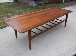 danish modern coffee table in tall form chocoaddicts com