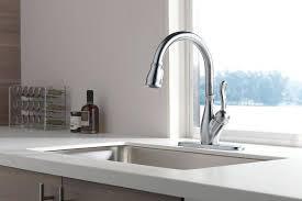 delta leland kitchen faucet delta leland pull kitchen faucet shop delta leland arctic