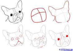 french bulldog puppy watercolor illustration by beavotron