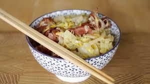 cuisiner le chou chinois cuit embeurrée de chou recette embeurrée de chou chinois à la coppa