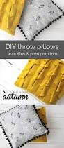 20 diy home decor projects the 36th avenue how to make cute diy throw pillows