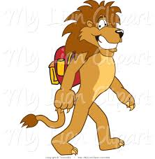 walking lion clipart clipartxtras