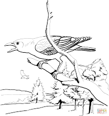 crows coloring pages free coloring pages