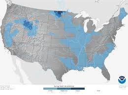 Climate In The Uncompahgre Watershed Uncompahgre Watershed Noaaclimate 2017 U S Spring Climate And Flood Outlook U2014 Red