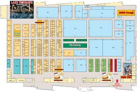 Amway Center Floor Plan Ultimate Fishing Show U2013 Detroit