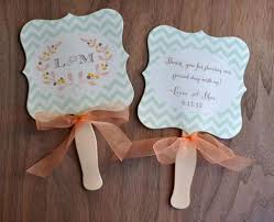 fan favors wedding favor fan rylee wiregrass weddings