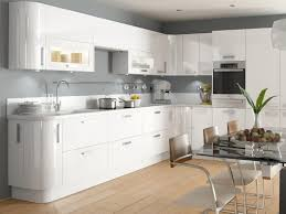 Modern White Gloss Kitchen Cabinets Customized To Amazing High - White gloss kitchen cabinets