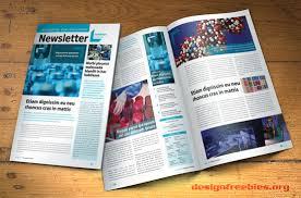 free indesign newsletter template design no 2 free indesign