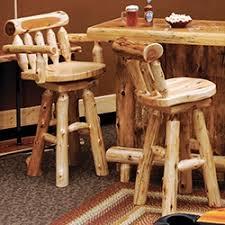 Barnwood Bar Stools Rustic Dining Furniture Barnwood Bar U0026 Stools Log Dining Room