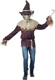 horrifying halloween costumes sadistic scarecrow scary halloween costume costume craze