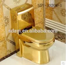 golden ceramic color luxury wc toilet bowl gold color toilet for