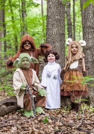 star wars halloween costumes for babies kids princess leia costume